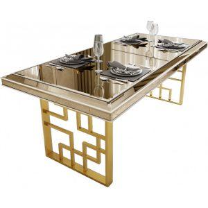 table-a-manger-design-plateau-en-miroir-bronze-avec-pietement-en-acier-chrome-dore-200x95x76cm-collection-monaco-31